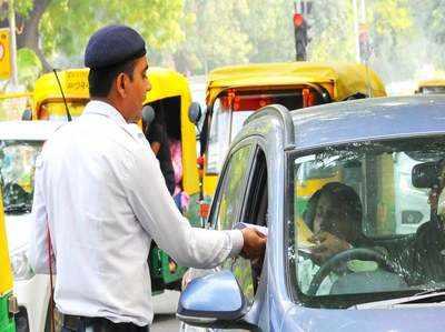 मोटर वीइकल ऐक्ट: गुजरात ने 90% तक कम किया ट्रैफिक जुर्माना