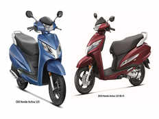 2019 honda activa 125 bs6 vs old honda activa 125 what makes the new scooter better than the outgoing model