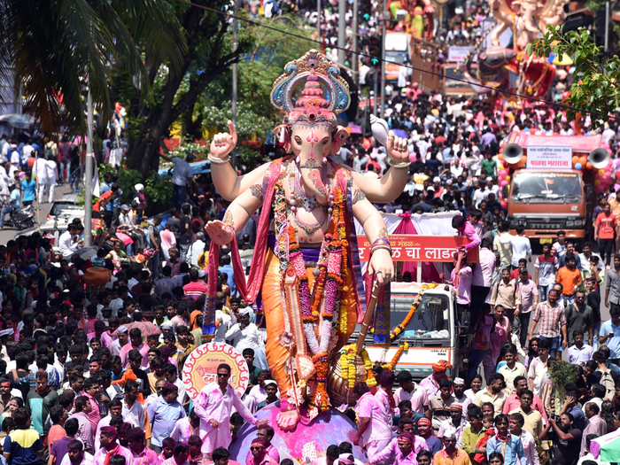ganapati immersion