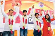 DUSU चुनाव 2019: अध्यक्ष समेत ABVP ने जीतीं तीन सीटें, ...