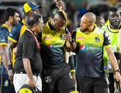 CPL: आंद्रे रसेल को लगी गेंद, फ्रैंचाइजी ने बताया- गंभीर नहीं