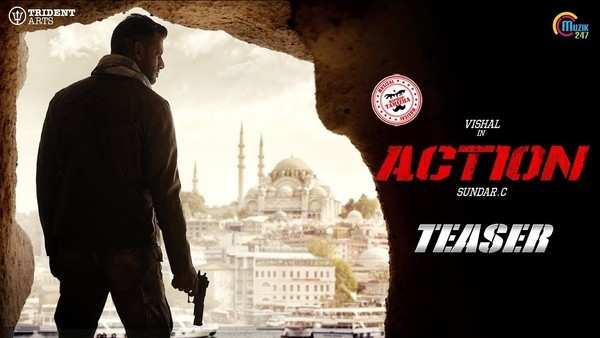 vishal starrer action teaser