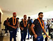 IND vs SA: पहले T20 के लिए धर्मशाला पहुंची टीम इंडिया