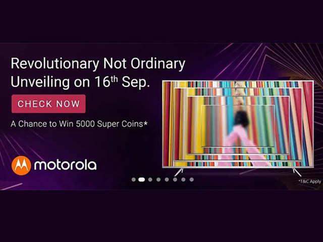 Motorola TV थोड़ी देर में होगा लॉन्च, Moto e6s भी करेगा भारत में एंट्री