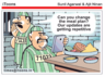 can you change the meal plan our updates are getting repetitive tamil cartoon jokes
