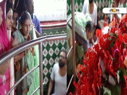 Jashodaben, wife of Narendra Modi worshipped at Kalyaneswar temple before PMs 69th birthday