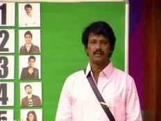 cheran fights with dharshan in ticket to finale task