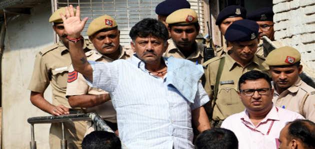 1 अक्टूबर तक न्यायिक हिरासत में भेजे गए डीके शिवकुमार