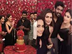 nayanthara throws party for birthday boy vignesh shivan