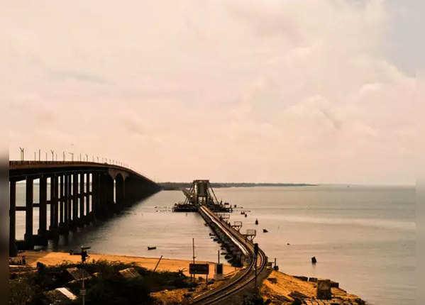 पंबन ब्रिज, रामेश्वरम