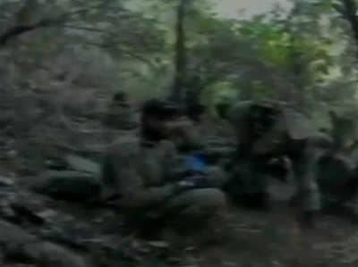 विडियो में दिखे एसएसजी कमांडोज