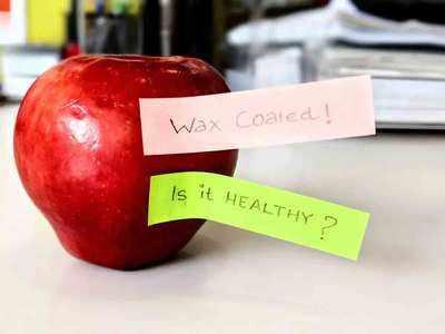कहीं आप भी तो नहीं खा रहे वैक्स वाला सेब?
