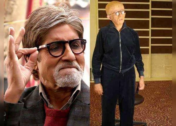 'पा' में अमिताभ बच्चन का लुक