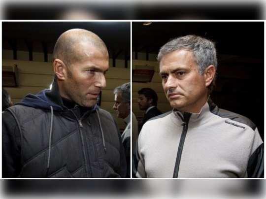 zidane vs mourinho