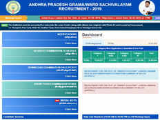 contract based employees service weightage marks are displayed in results