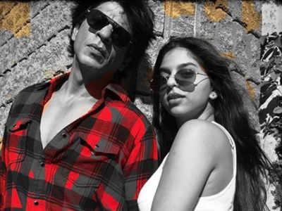 शाहरुख खान और उनकी बेटी सुहाना