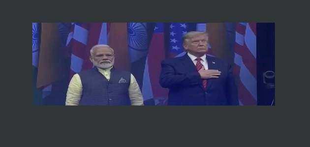 हाउडी मोदी: अमेरिकी राष्ट्रपति डॉनल्ड ट्रंप ने PM नरेंद्र मोदी के साथ मंच किया साझा