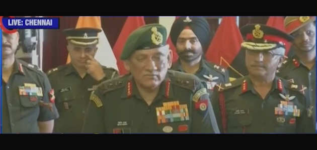 सेना प्रमुख जनरल रावत ने बताया- बालाकोट आतंकी शिविर पाक ने फिर किया सक्रिय