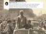 who is india gandhi spelling mistake in sashi tharoors tweet makes trending hashtag in twiter