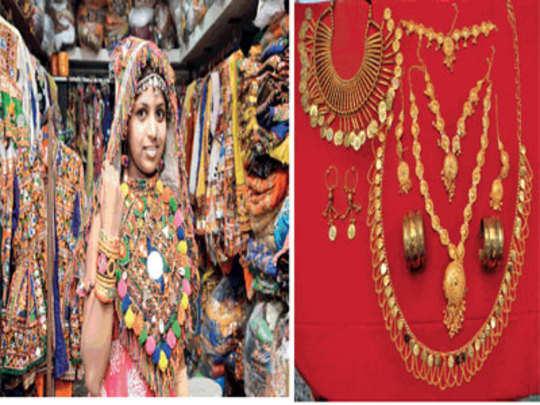 नवरात्रीला फॅशनची नवलाई
