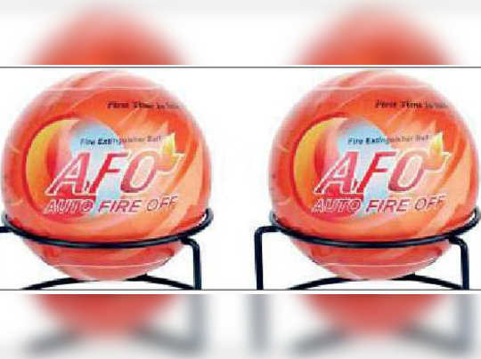 Fire service now have fire balls during Durga puja