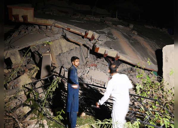 पीओके में भूकंप के कारण भारी तबाही