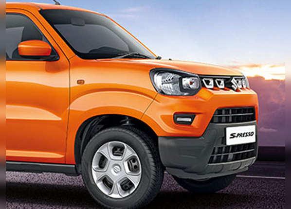 Maruti S-Presso: तस्वीरों में देखें कैसी है छोटी SUV