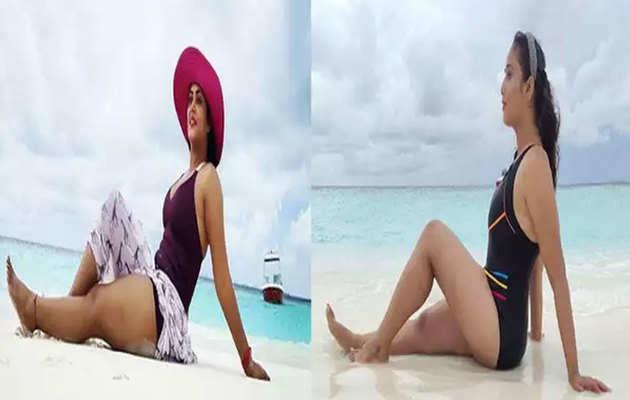 इंटरने पर छाईं रानी चटर्जी और अंजना सिंह की मलदीव वकेशन की हॉट और सेक्सी तस्वीरें