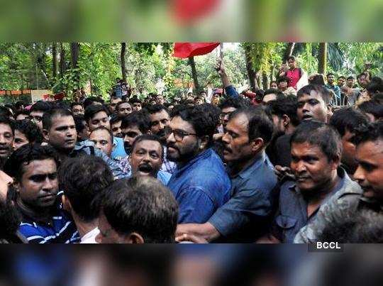 Jadavpur administration asked all parties to maintain peace
