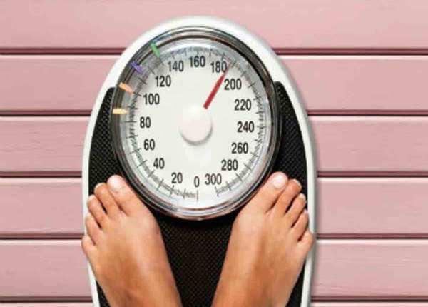 चौथा वादा: वजन पर नजर रखें