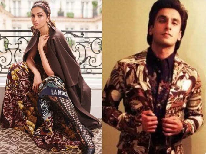 जब दीपिका पादुकोण ने अपने फैशन से दिला दी पति रणवीर सिंह की याद