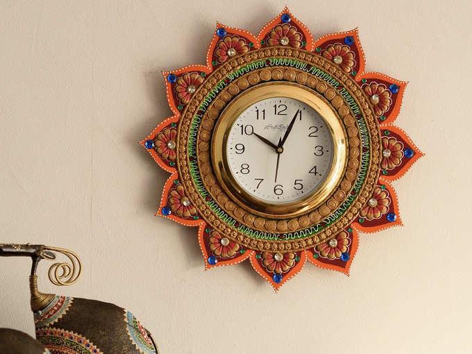 eCraftIndia Royal Wall Clock