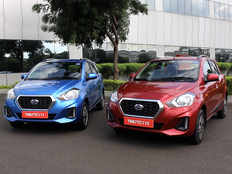 test drive review datsun go go cvt are refreshing change among amt hatchbacks