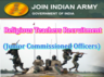 applications are invited from eligible male candidates for recruitment of religious teachers in indian army as junior commissioned officers