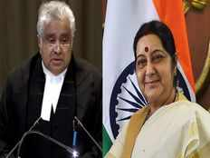 ormer minister sushma swarajs lost promise fulfilled by her daughter today