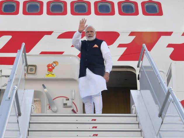 पीएम नरेंद्र मोदी अमेरिका से भारत रवाना।