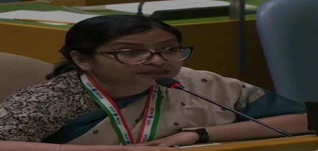 UNGA में भारत का इमरान खान को जवाब, कहा परमाणु हमले की धमकी देकर पाक ने की अस्थिरता पैदा करने की कोशिश