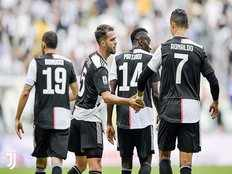 italian champions juventus won against spal in serie a 2019 20