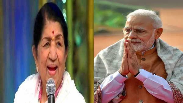 legendary singer lata mangeshkar joins pm narendra modi for mann ki baat