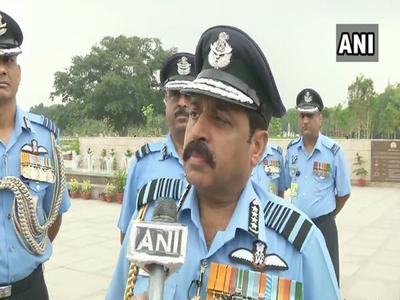 वायु सेना प्रमुख बने राकेश भदौरिया