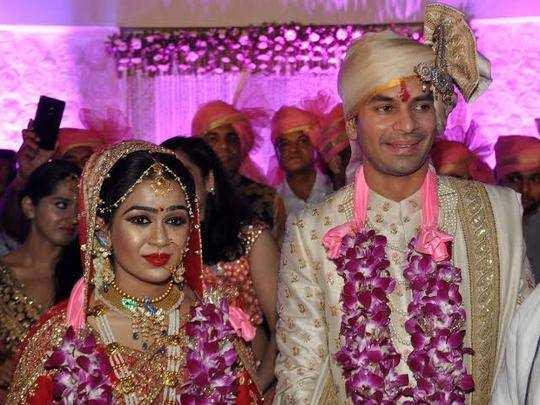 tej pratap and wife