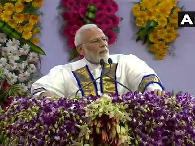 आईआईटी मद्रास में पीएम नरेंद्र मोदी