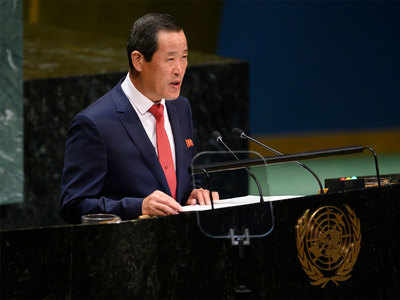 उत्तर कोरिया के राजदूत किम सोंग