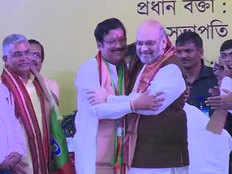 टीएमसी विधायक सब्यसाची दत्ता बीजेपी में शामिल, कहा- दूसरा पाकिस्तान बन रहा वेस्ट बंगाल