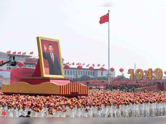 चीनचे लष्करी शक्तिप्रदर्शन