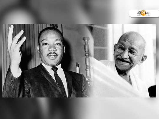 dr martin luther king, jr said that gandhi's spirit and his idea of non violence inspired and guided him