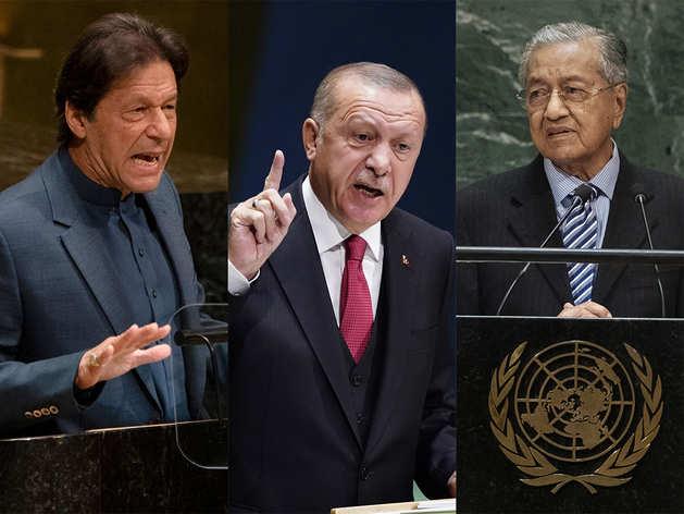 इमरान खान, रिसेप तैयब एर्दोगन और महातिर मोहम्मद