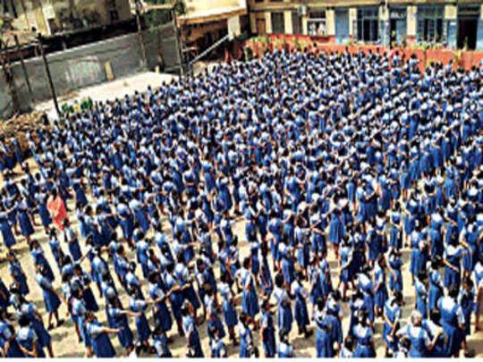 १५०० विद्यार्थ्यांनी घेतली स्वच्छतेची शपथ
