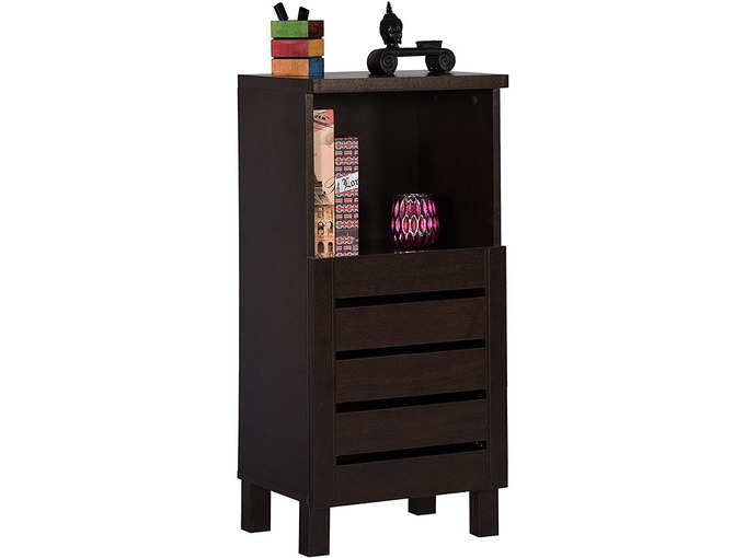 DeckUp Uniti End Table-Storage Cabinet