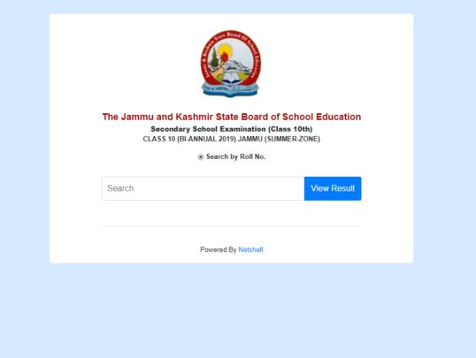 jkbose 10th class result jammu division 2019
